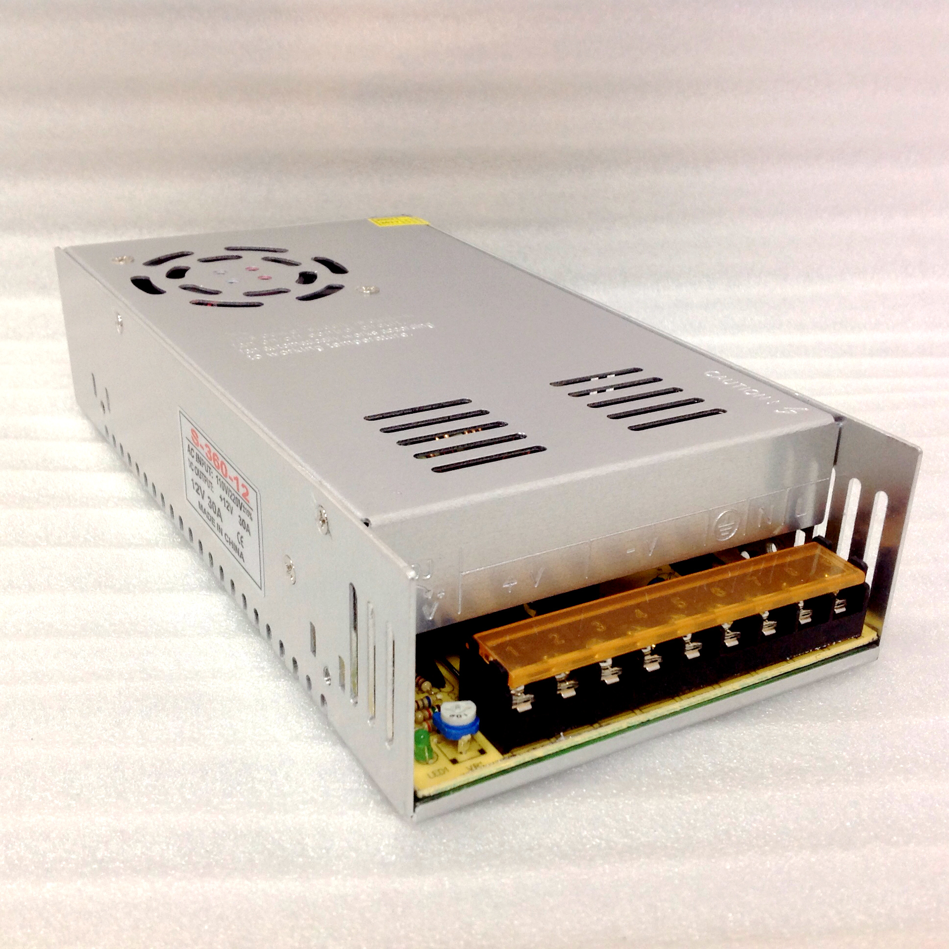 Guangzhou Yuxiang Electronic Technology Coltd Power Supply Which Is Switched Mode Based 12v 30a Switch
